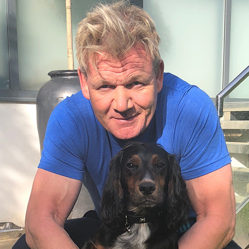 Gordon Ramsay with Bruno